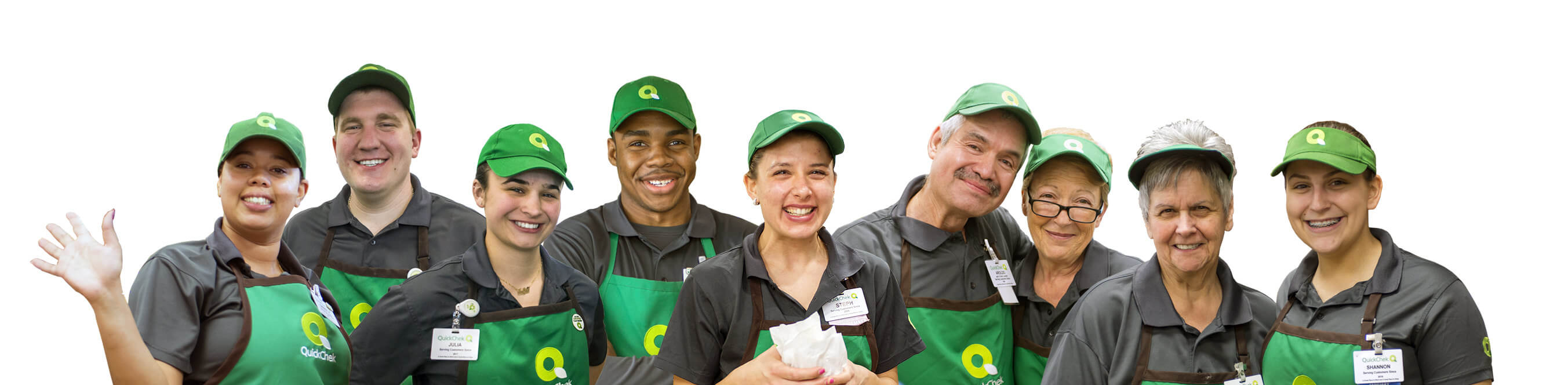 QuickChek Team Members
